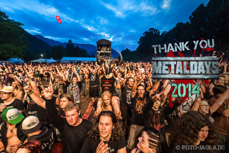 Metal Days 2014 in Tolmin, Slovenia