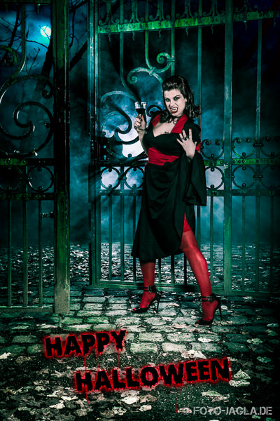 Happy Halloween with model Valerie Vermont