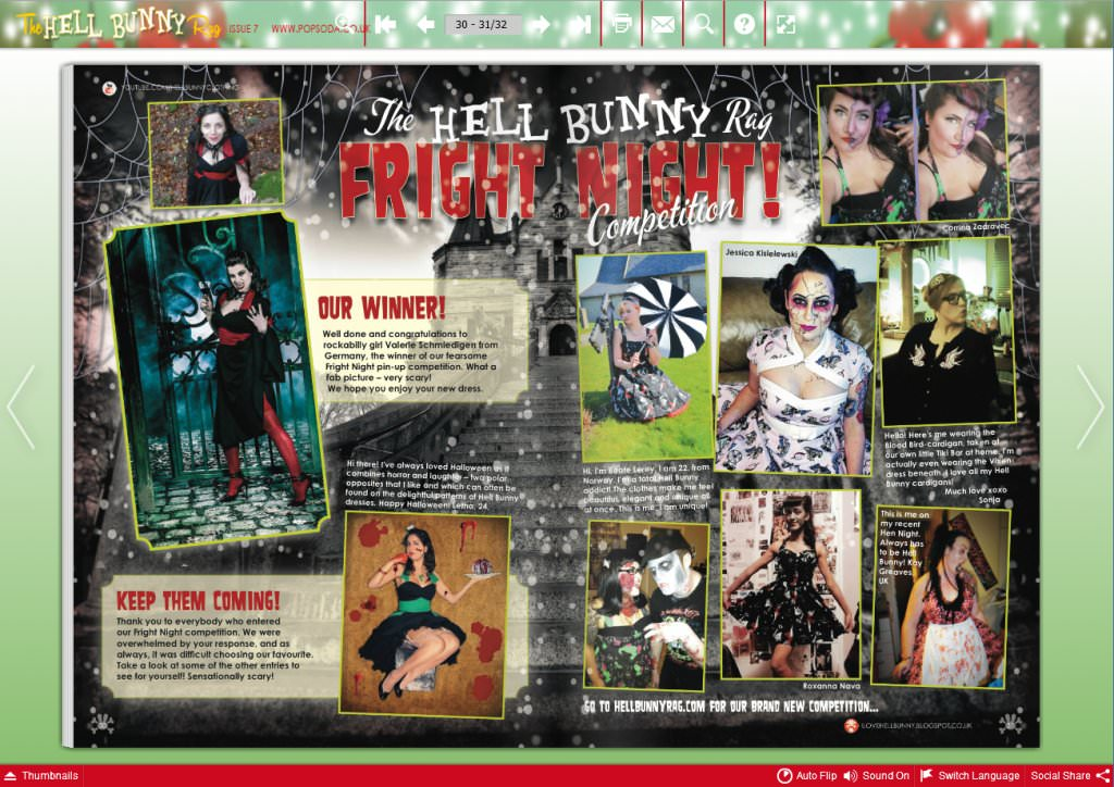 The Hell Bunny Rag - Fright Night Competition 2014 - 1st place