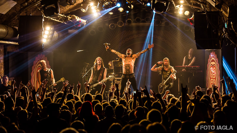 Amorphis »Under The Red Cloud« Tour 2016 in der Matrix (Bochum)