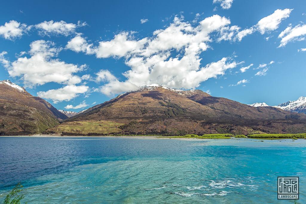Lake Wanaka auf der Südinsel in Neuseeland