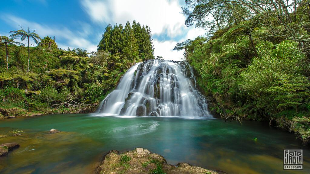 Owharoa Falls bei Karangahake Gorge in Neuseeland
