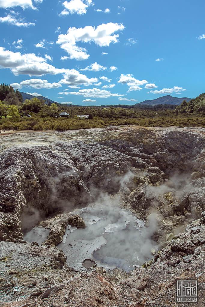 Wai-O-Tapu Thermal Wonderland in Neuseeland