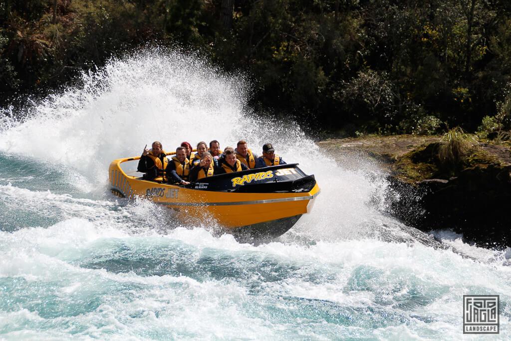 Speedboat Tour - Mit dem Schnellboot über den Lake Taupo