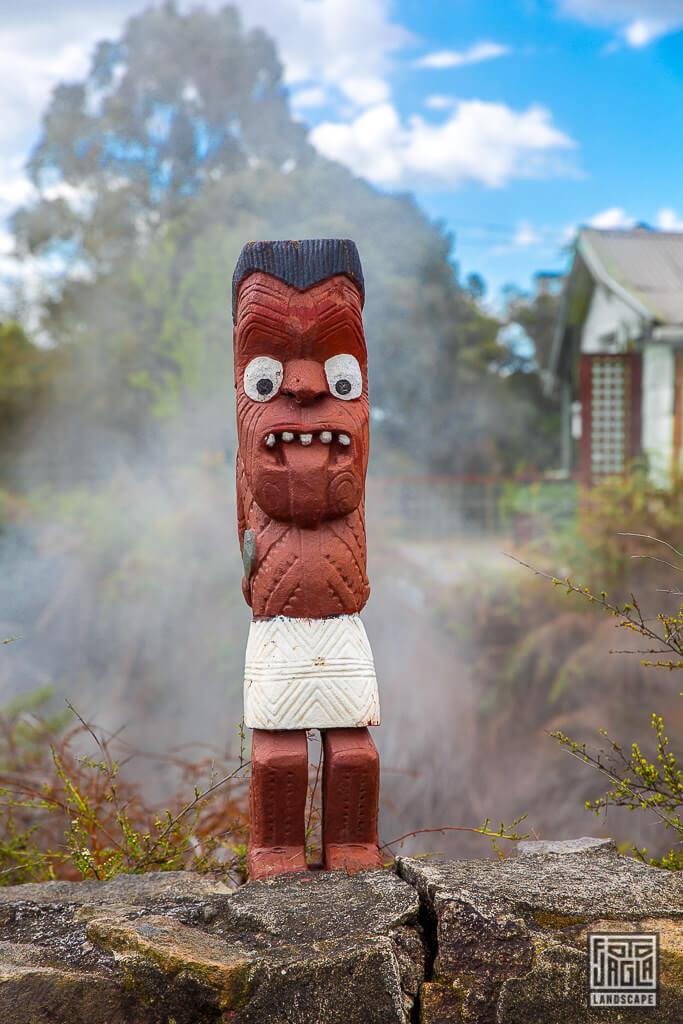 Whakarewarewa Thermal Village in Rotorua