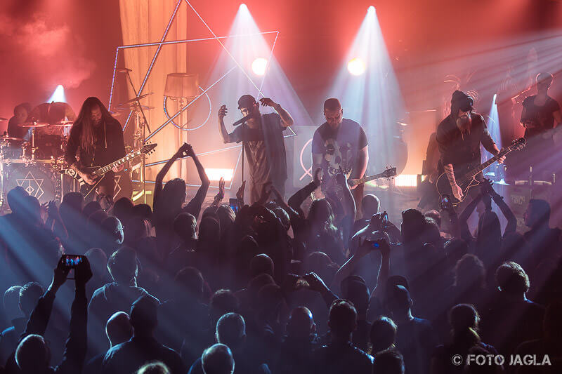 In Flames in der Christuskirche in Bochum 2017