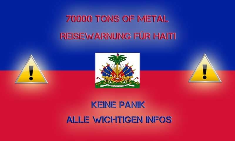 Reisewarnung vom Auswertigen Amt für Haiti