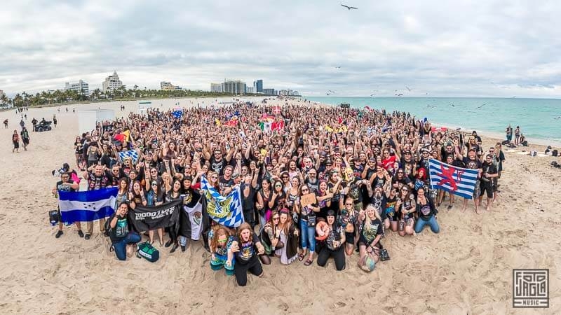 70000 Tons Of Metal 2019 - Beachparty @ South Beach, Miami