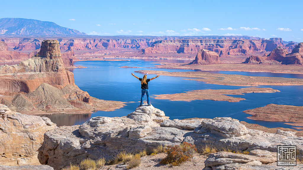 Alstrom Point am Lake Powell in Utah