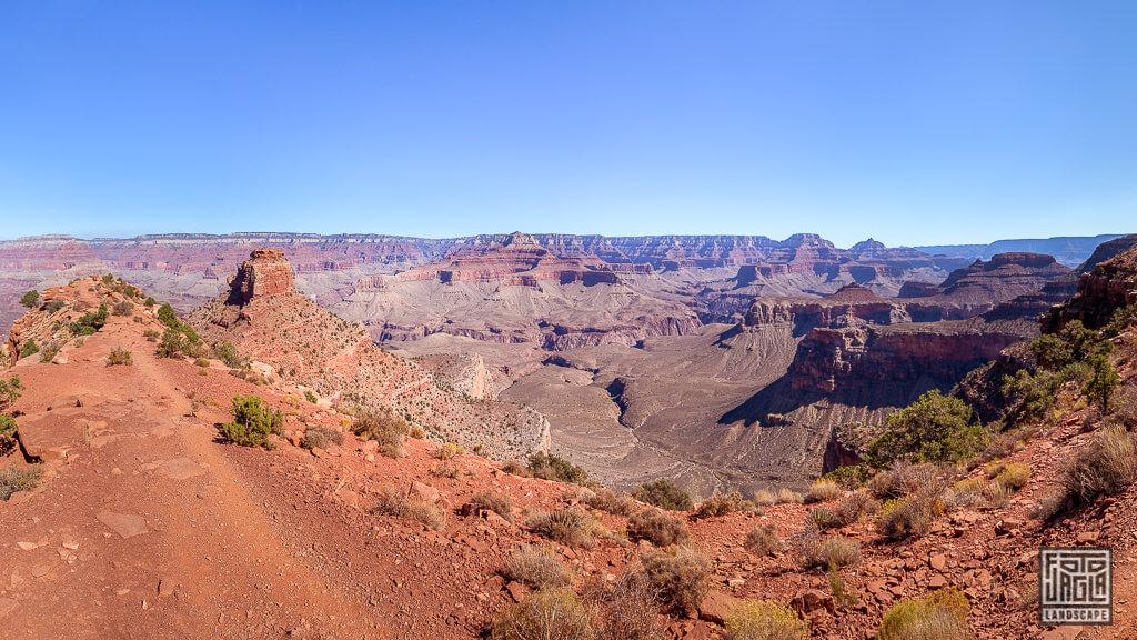 Cidar Ridge auf dem South Kaibab Trailhead im Grand Canyon Nationalpark in Arizona