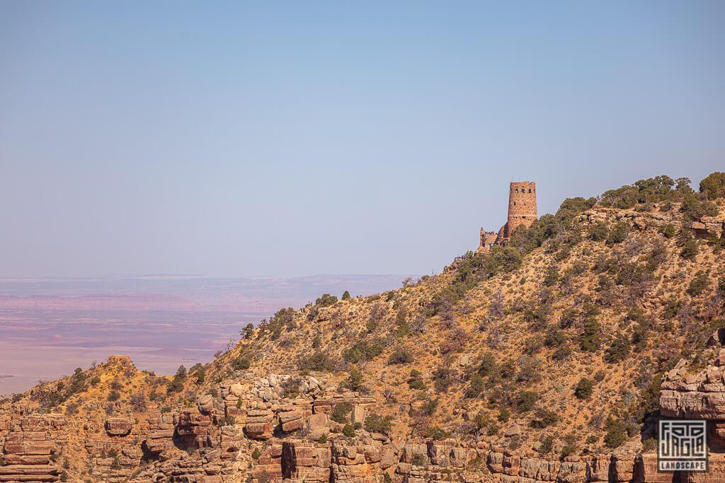 Desert View Watchtower - Wachturm am South Rim im Grand Canyon Nationalpark in Arizona