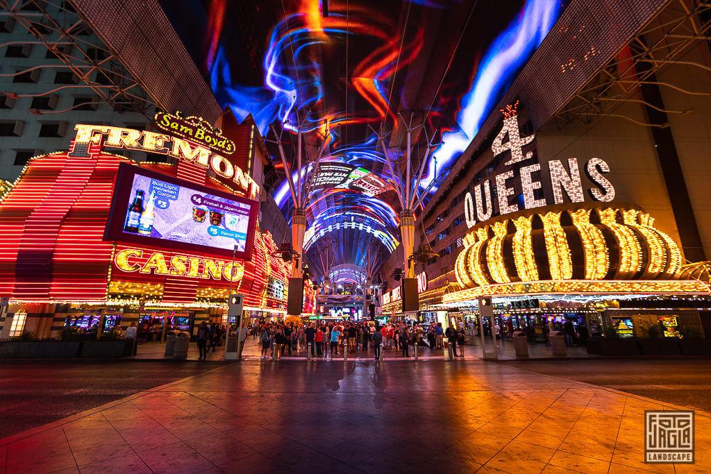 Fremont Street Experience Las Vegas Downtown Golden Nugget