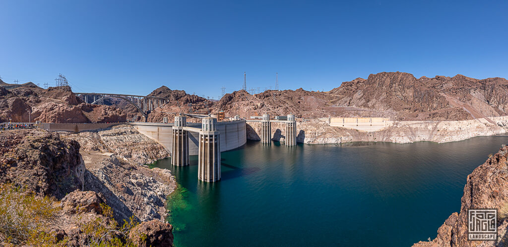 Hover Dam Staudamm Nevada Colorado River Lake Mead
