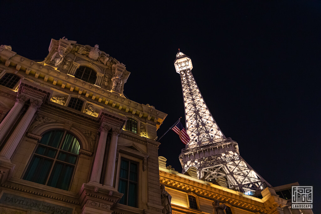 Paris Las Vegas Strip Eiffelturm Hotel Casino
