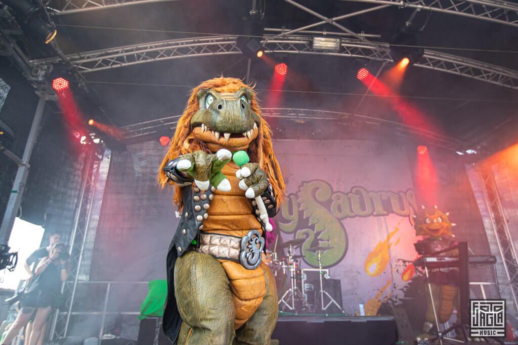 Heavysaurus Metal Band