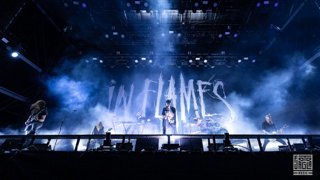 In Flames beim Summer Breeze Open Air 2019