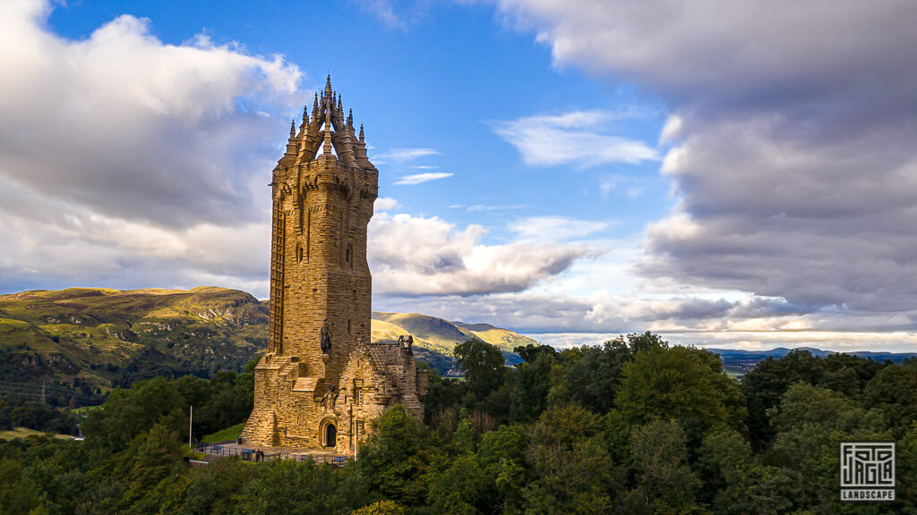 National Wallace Monument in Schottland