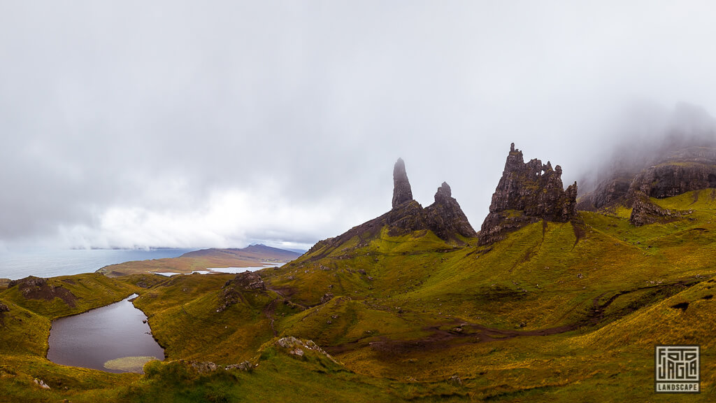 Old Man of Storr auf der Isle of Skye in Schottland