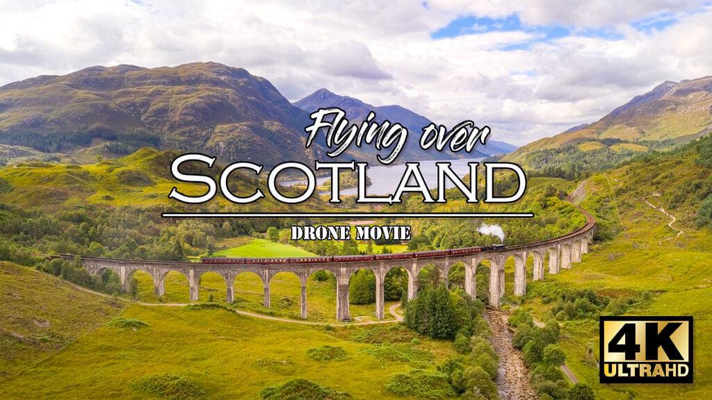 Schottland Drohnenvideo - Die Highlands aus der Luft