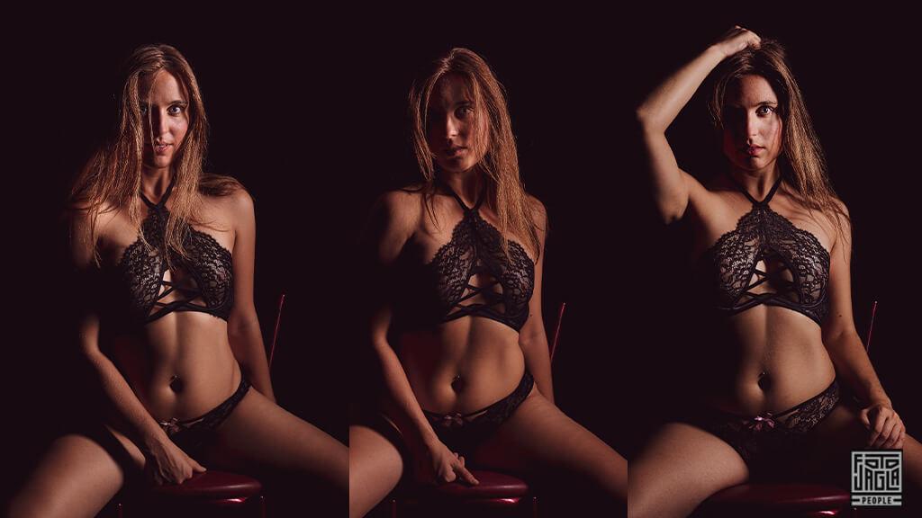 Erotisches Low-Key Shooting - Sexy LowKey Aufnahme