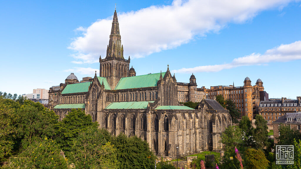 St Mungo's Cathedral - Glasgow Cathedral - High Kirk of Glasgow - berühmte Kathedrale in Schottland