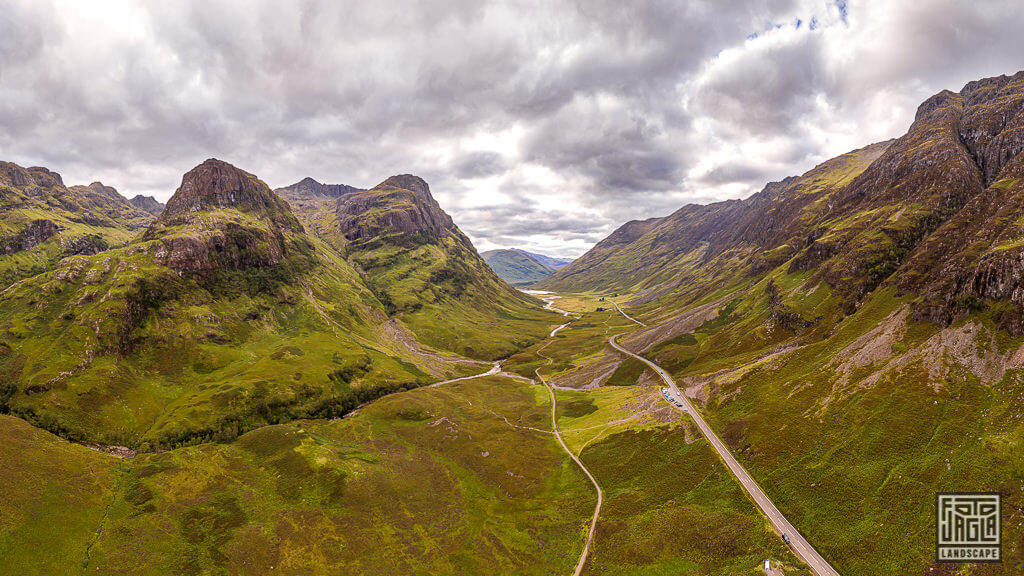 The Three Sisters in GlenCoe in Schottland
