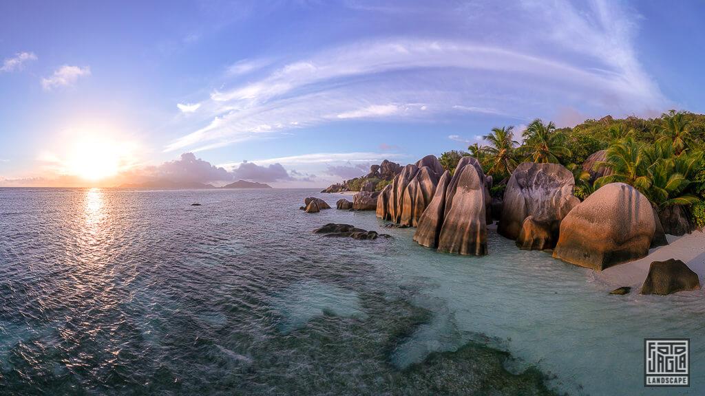 Anse Source D'Argent - La Digue, Seychellen