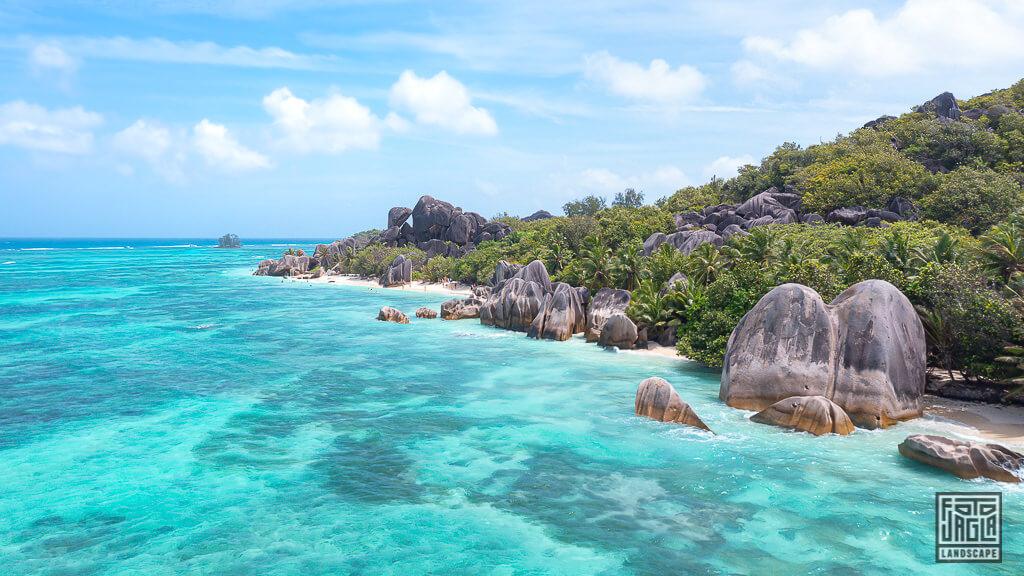 Seychellen - Fotografie aus La Digue und Mahé